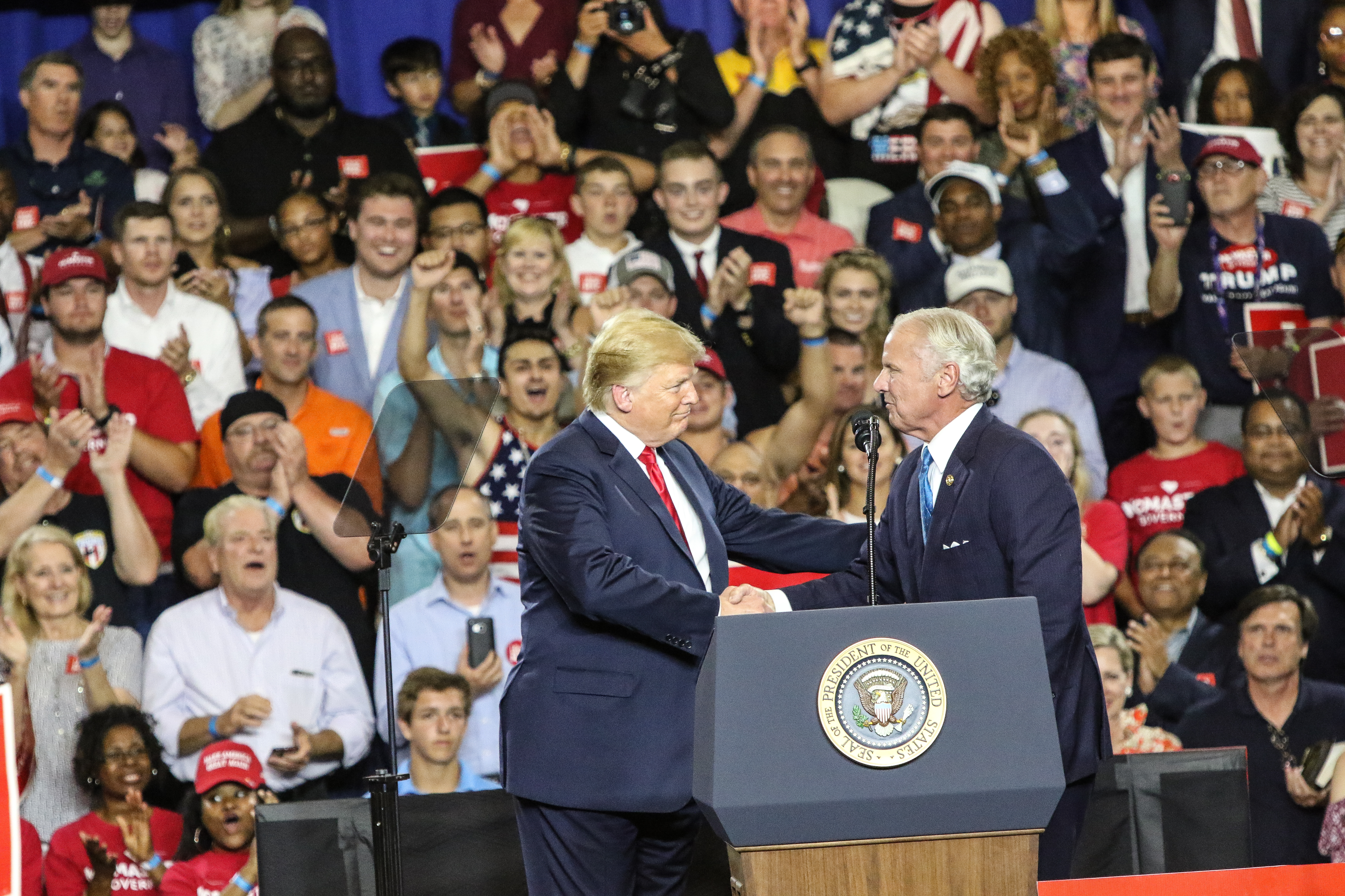 Donald Trump stumps for Henry McMaster -1776