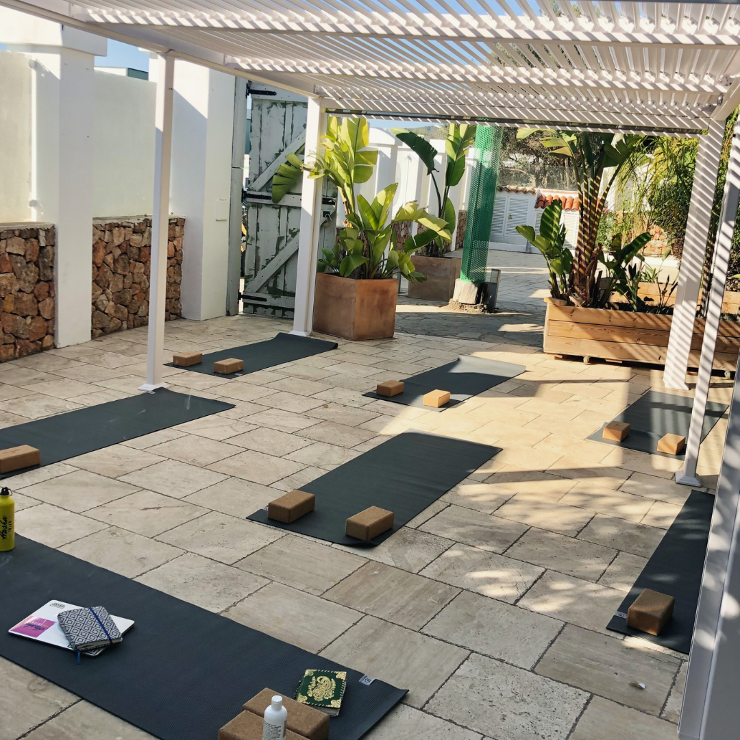 Yoga in Ibiza - large groups