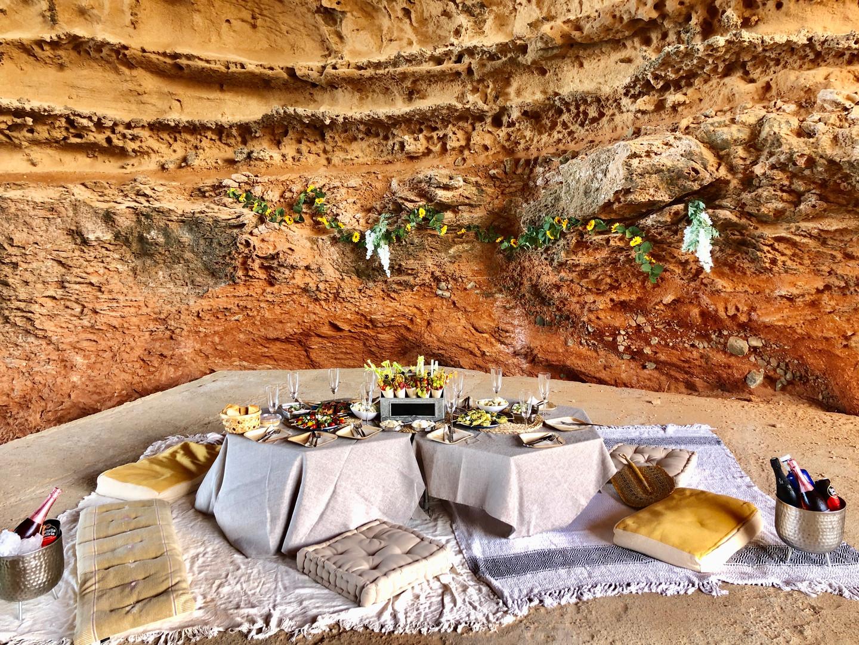 Cave picnic