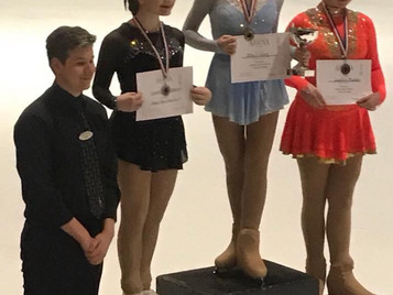 Lauren makes a memorable comeback to competitions.