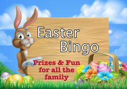 Easter Bingo template