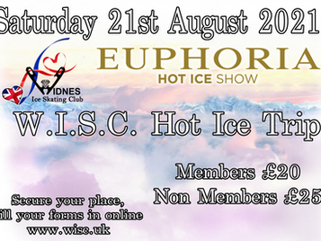 WISC Hot Ice Trip 2021, Book Your Tickets Now!!
