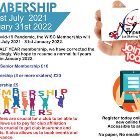 Membership Registration is now open