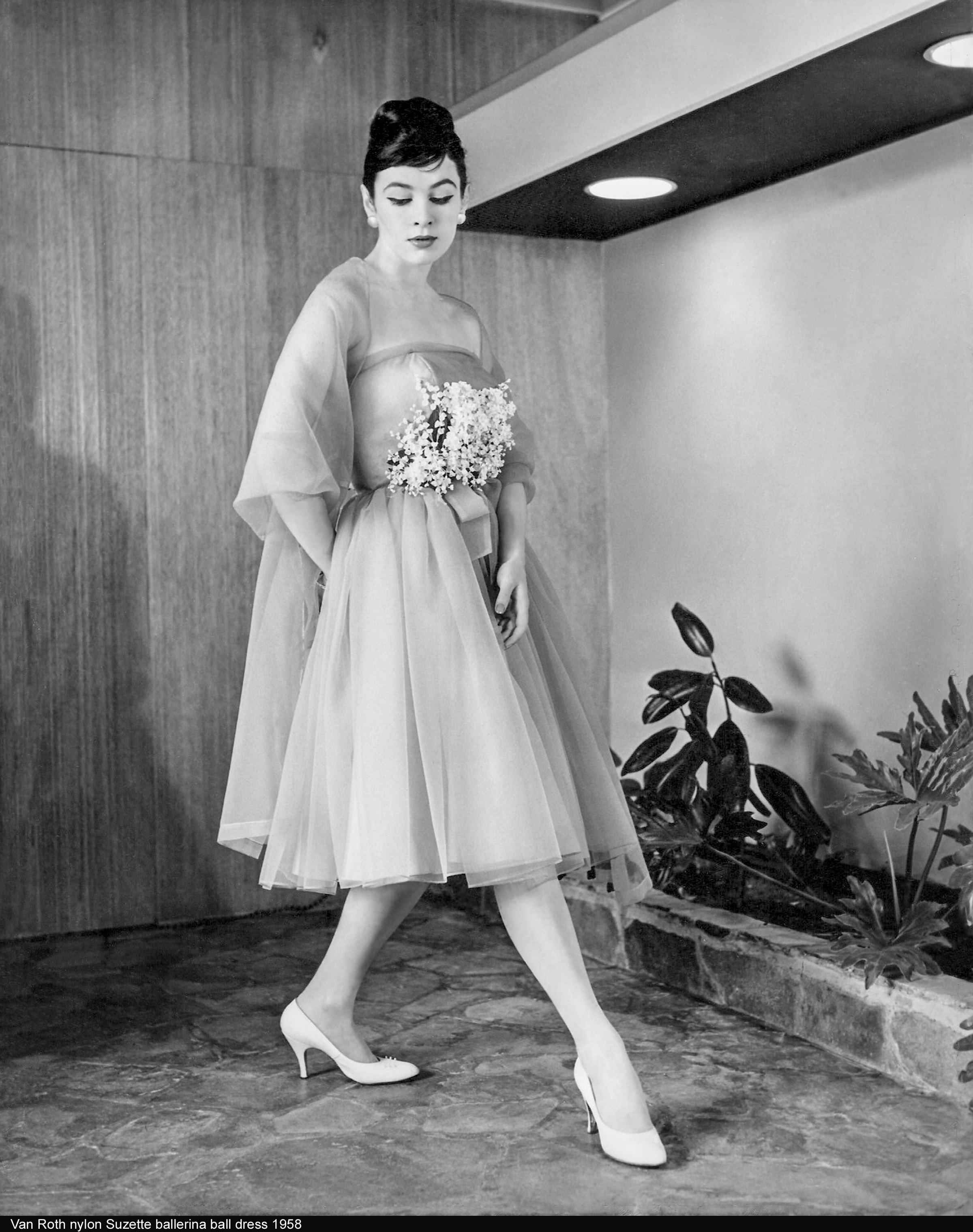 Van Roth Nylon Suzette Ballerina 1958