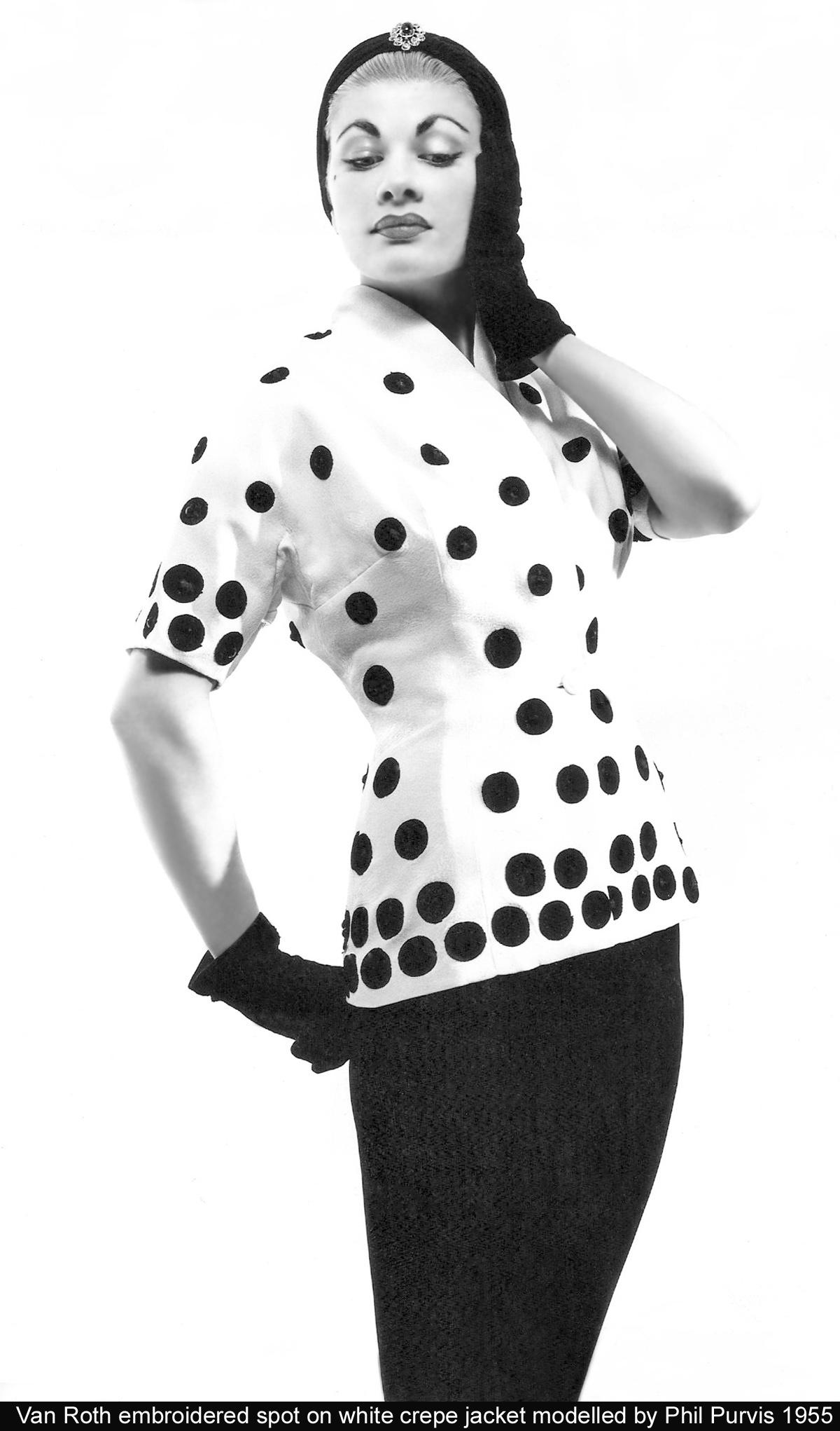 Van Roth jacket  and skirt 1955