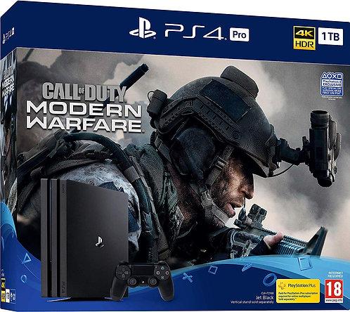 Sony PlayStation 4 Pro 1TB Call of Duty: Modern Warfare Bundle