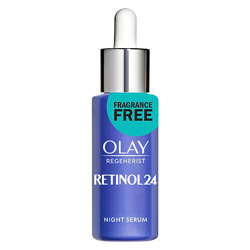 Olay Regenerist Retinol 24 Night Facial Serum, 1.3 oz