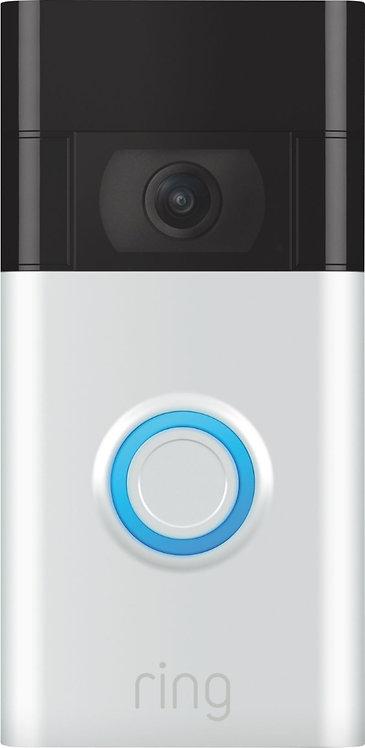 Ring Video Doorbell (2020 Release) Satin Nickel - Satin Nickel