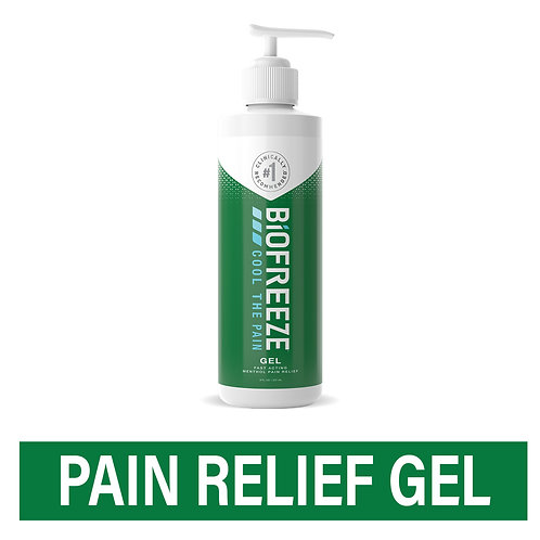 Biofreeze Pain Relieving Gel, Arthritis, Muscle, Joint and Back Pain Relief