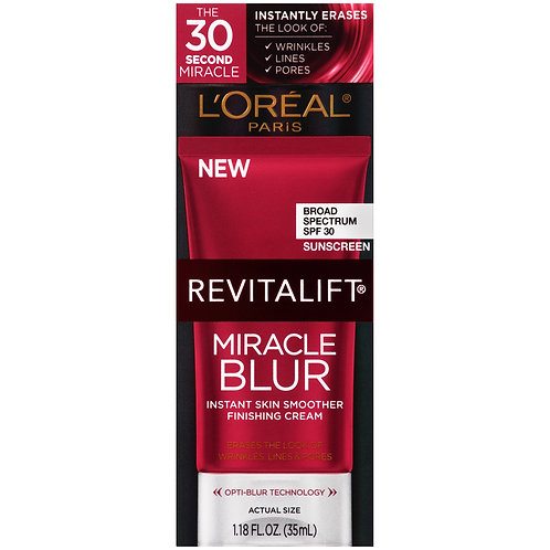 L'Oreal Paris Revitalift Miracle Blur Instant Skin Smoother, 1.18 fl. oz.