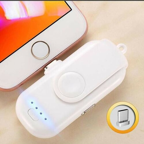 Portable Fingerpow Mini Power Bank Charger for iPhone/Android/Type-C Cell Phones