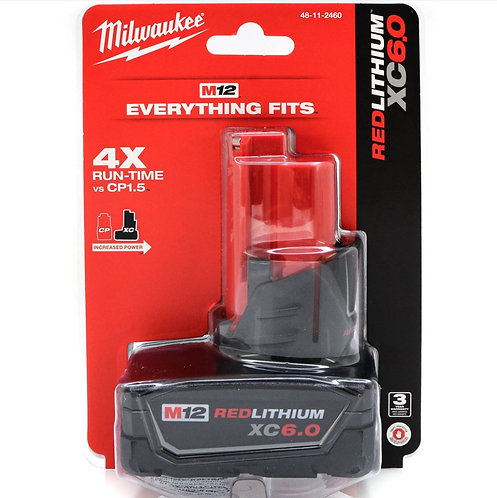 Milwaukee M12 6.0Xc Battery