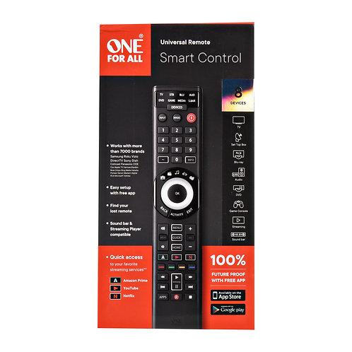 One For All UEBVURC7880 Smart Control 8 Universal Remote