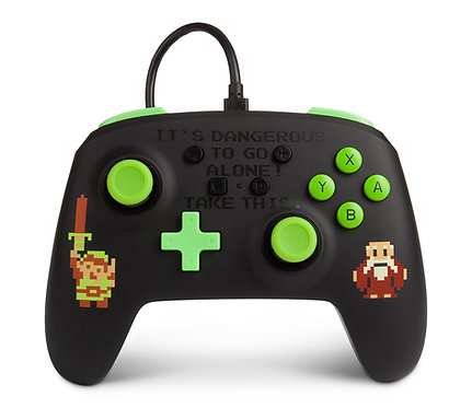 PowerA Enhanced Wired Controller for Nintendo Switch – Retro Zelda