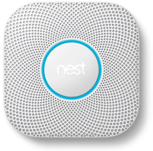 Google Nest Protect Battery Smart Smoke & Carbon Monoxide Alarm (2nd generation)