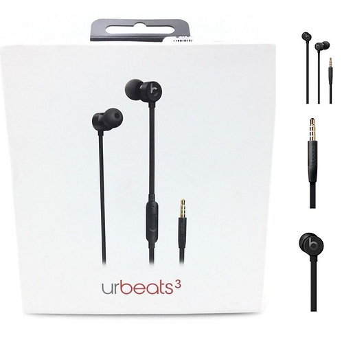 Beats by Dr. Dre - urBeats³ Earphones with 3.5mm Plug - Black