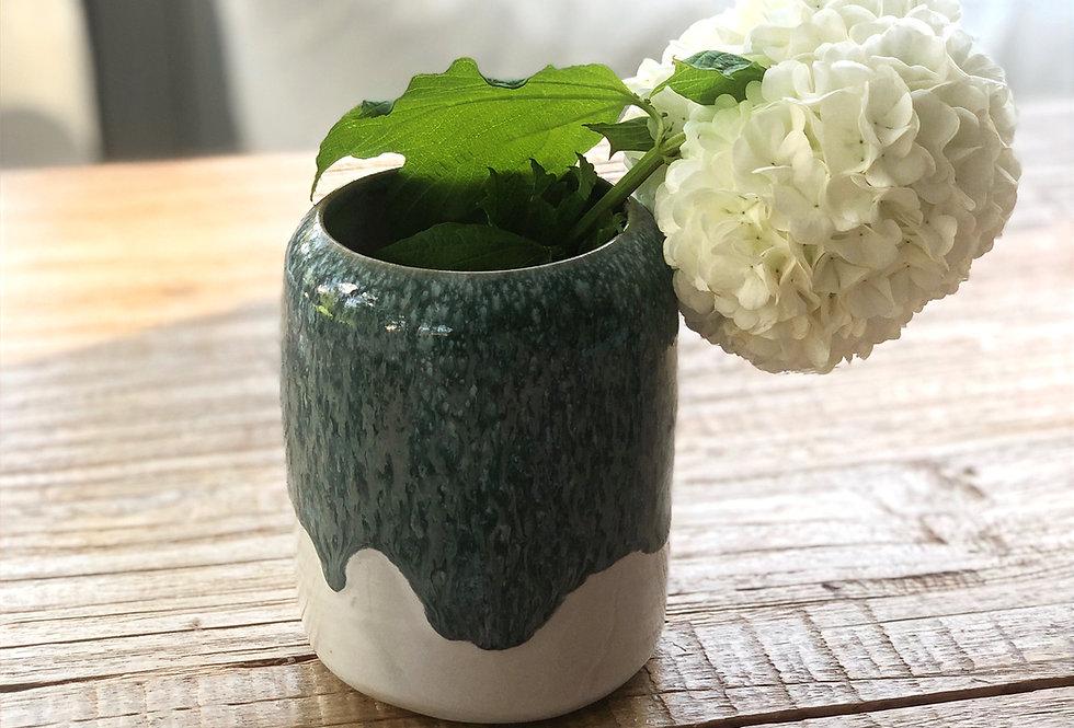 Small grey/green vase