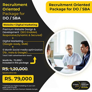 Recruitment Oriented Package for DO _ SB