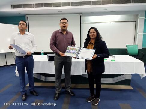 MDI Delhi, MDRT Training Certificate.jpg