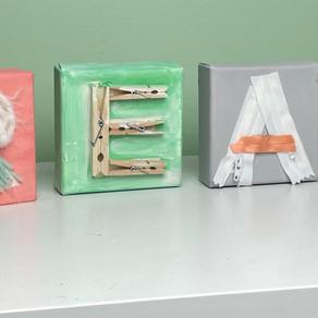 Displaying My Creativity - A Fun DIY Craft!