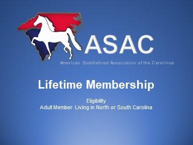 ASAC Lifetime Membership
