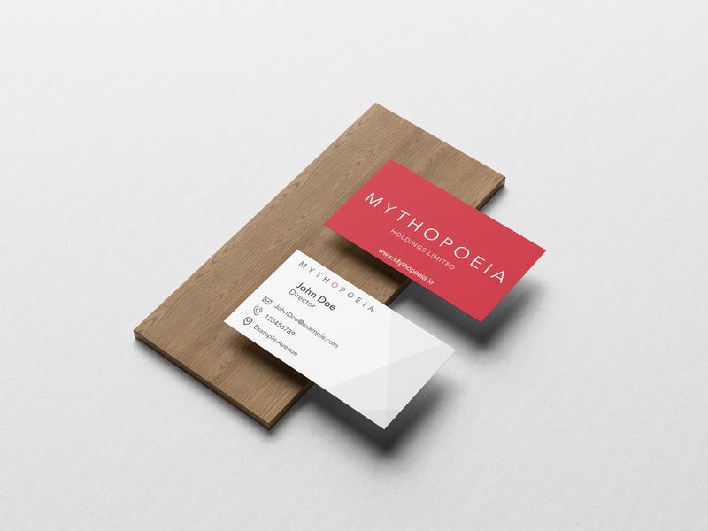 Mythopoeia Business Card Design