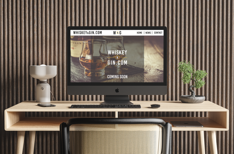 Whiskey and Gin Website