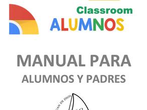 Manual Google Classroom para Padres y Alumnos
