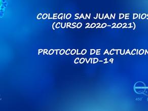 Información inicio de curso 2020/21