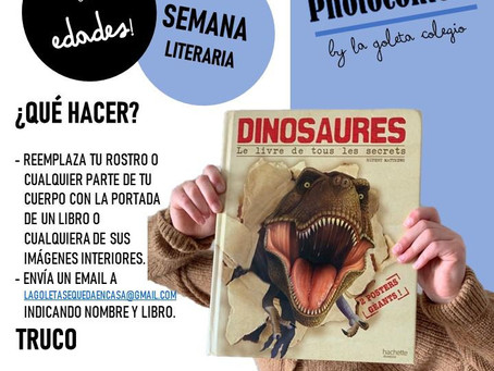 ¡Participa en la Semana Literaria de La Goleta!