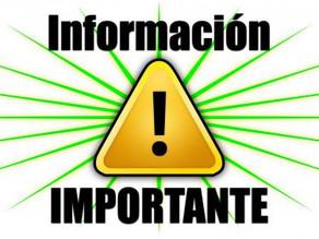CARTA INFORMATIVA PARA LOS PADRES Y MADRES DE ALUMNOS PARA EL INICIO DEL CURSO 2021/22