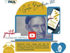 1ª Gala benéfica 2021 Fundación DEPAUL
