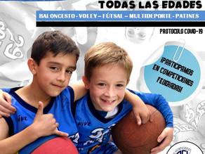 Santa Luisa se une al proyecto de escuela deportiva
