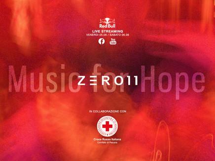 Zero11 pres. Music For Hope, raccolta fondi benefica.