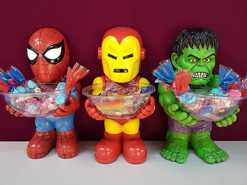 Super Hero Candy Holders