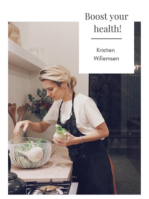 E-book Boost your health!