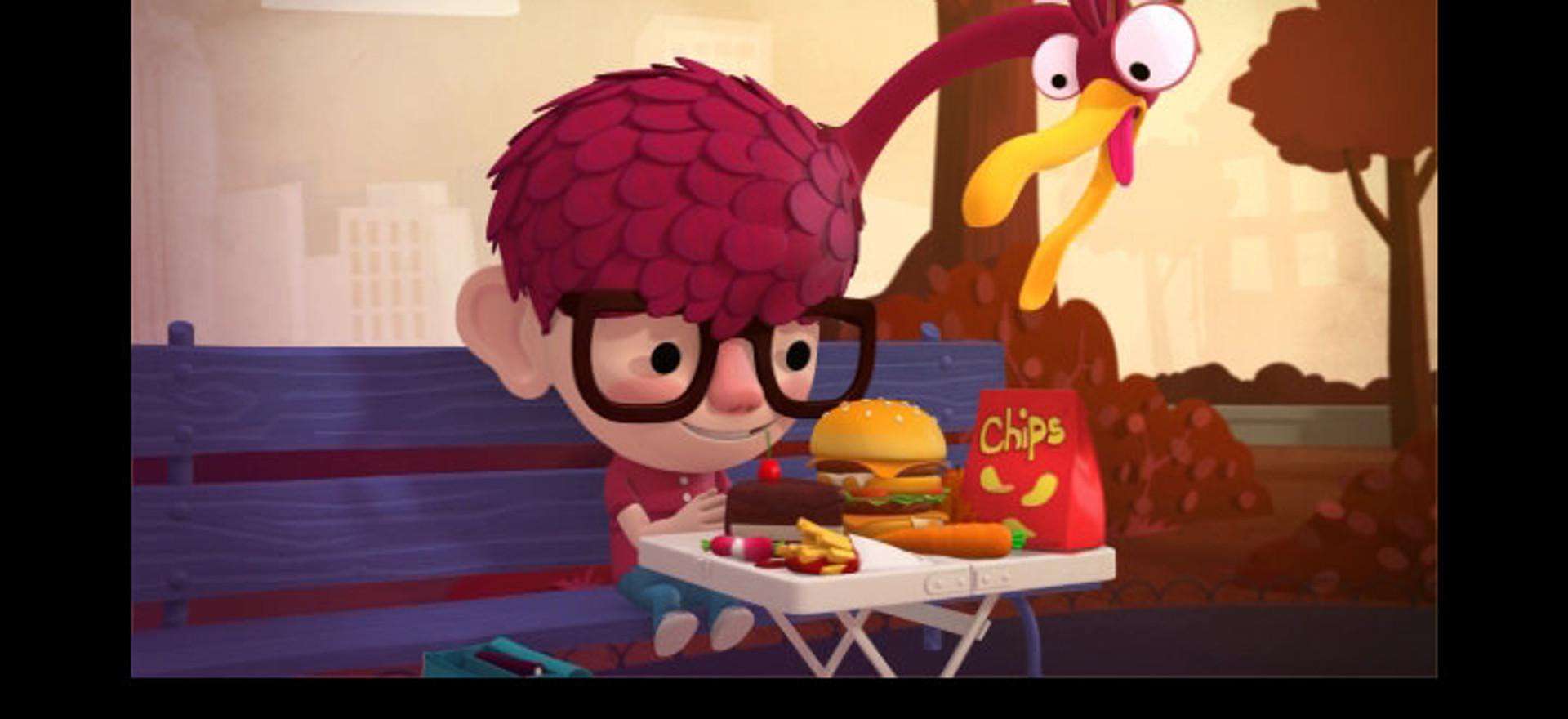 Lucas et l'oiseau gourmand