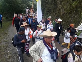 Padre Prisci camino al Tepeyac