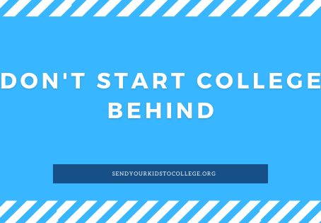 Don't Start College Behind | Work With a Certified College Planning Specialist