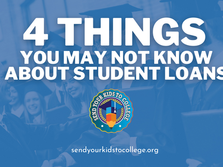 4 Things You May Not Know About Student Loans | WNY College Planning