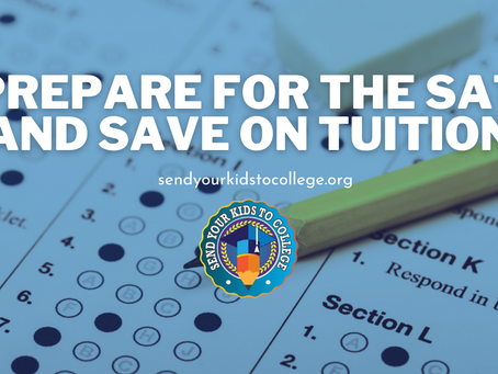 Prepare For the SAT and Save on Tuition