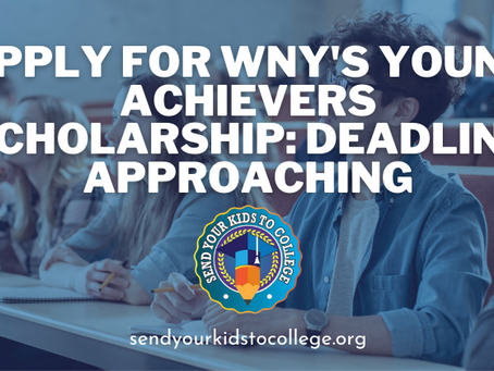 July 1st is almost here: Apply for your WNY College Scholarship