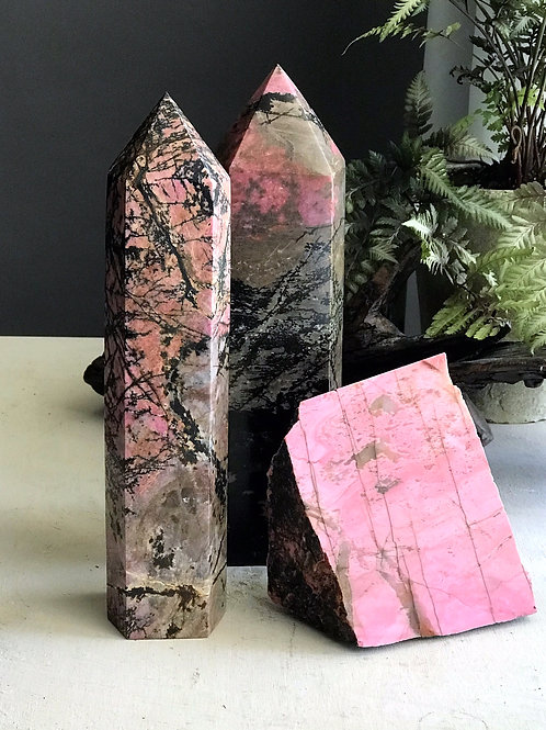 7.81lb rhodonite point