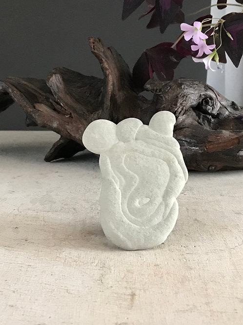 "4.5"" rare fairy stone"