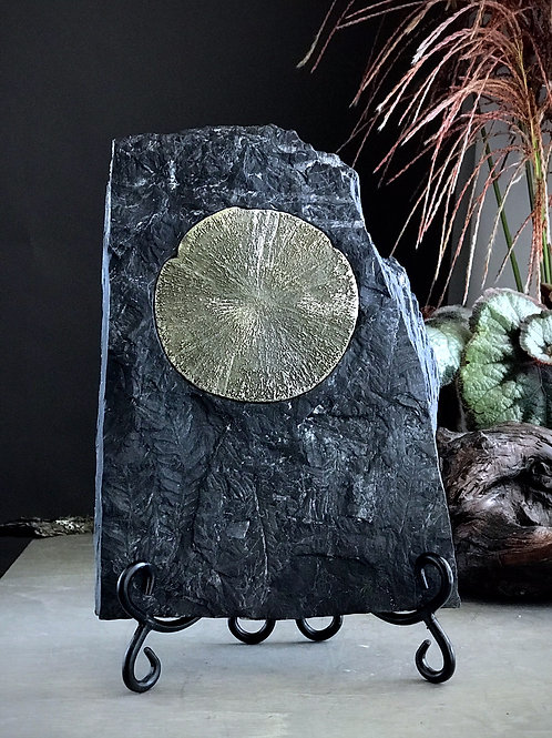 4.40lb pyrite sun on matrix