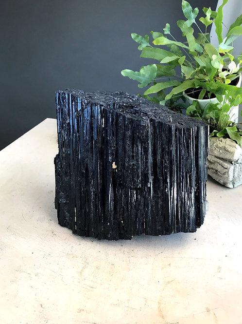 26.45 lb raw black tourmaline