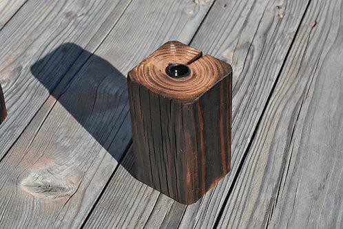 """reclaimed wood 6"""" display"""