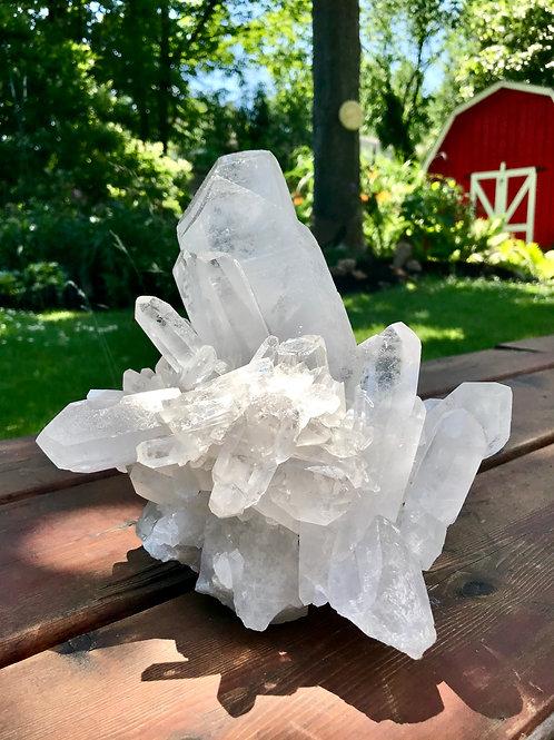 QC30//3500 ◦◦7.71lb◦◦ lb large quartz cluster