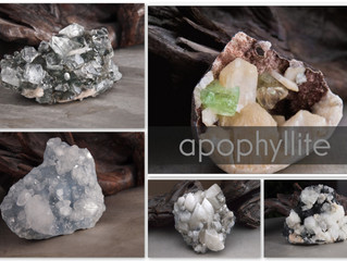 APOPHYLLITE | stone of purity and spiritual presence