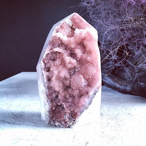 rare TOP grade 3.09 lb pink amethyst